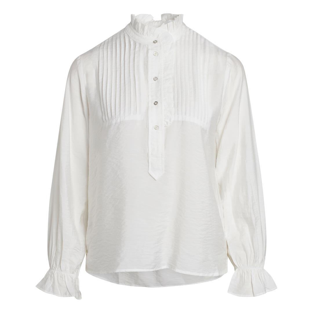 Callum Pintuck Frill Shirt