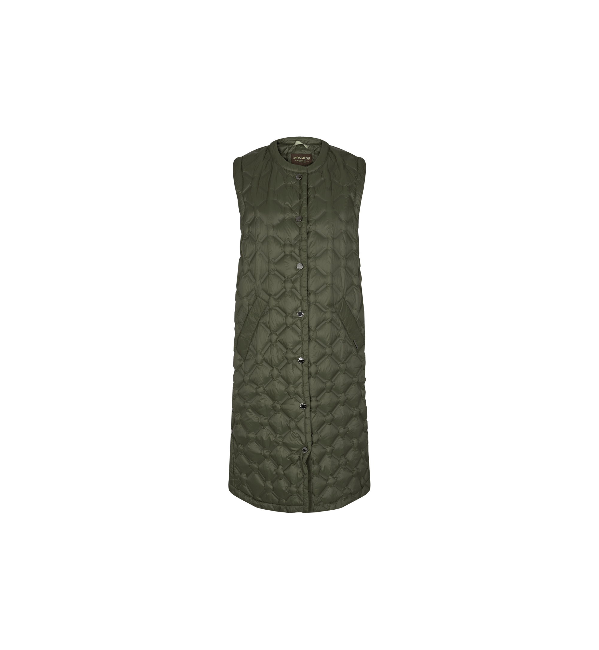 Elvina Quilted Down Waistcoat